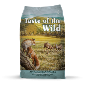 Taste of the Wild Appalachian Valley Small Breed Canine Recipe, with Venison & Garbanzo Beans