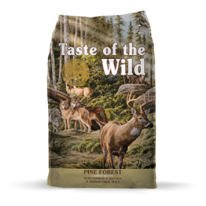 Taste of the Wild Pine Forest Canine Recipe with Venison & Legumes