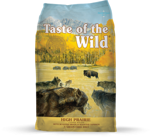 Taste of the Wild High Prairie with Roasted Bison and Roasted Venison