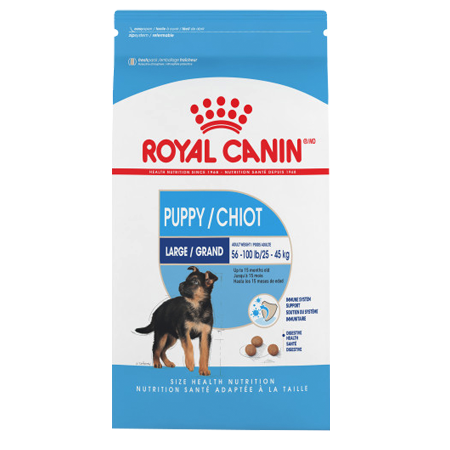 Royal Canin Large Puppy Dry Dog Food :: Arcola Feed