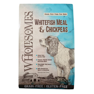 SPORTMiX Wholesomes Grain-Free Whitefish Meal and Chickpeas Dry Dog Food