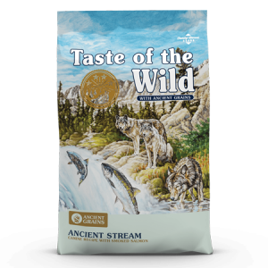 Taste of the Wild Ancient Stream Canine Recipe Dry Dog Food with Smoked Salmon