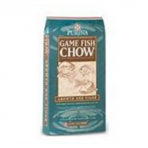 Pond Products: Blue Bag of Fish Feed Called Game Fish Chow