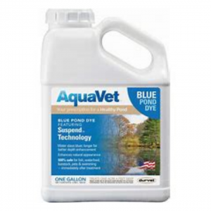 Pond Products: Bottle of Aqua Vet which is good for keeping poinds clean